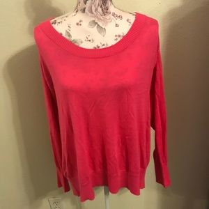 Pink Lane Bryant sweater